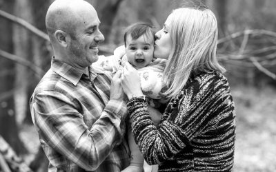 Family Photography Session in Oxshott Woods