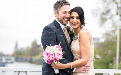 Gorgeous Riverside London Wedding