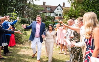 Fabulous Surrey Wedding