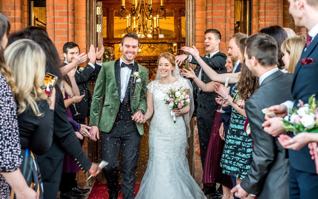Stunning Surrey Christmas Wedding