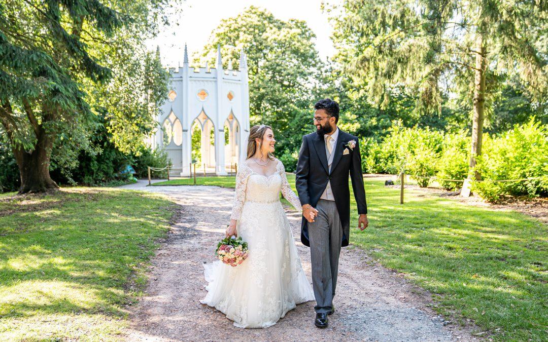 Melissa & Krishan, Surrey Wedding